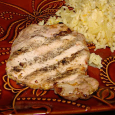 Lemon Grilled Pork Chops