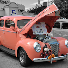 Peach by Dawn Hoehn Hagler - Transportation Automobiles ( car, cops and rodders, automobile, auto, peach, transportation, hot rod,  )