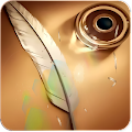 Note feather wallpaper APK for Bluestacks