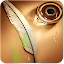 Note feather wallpaper APK for Blackberry