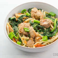 Stir-Fried Chicken Noodles