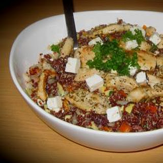 Mediterranean-Style Chicken and Quinoa Salad