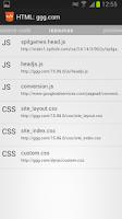 Screenshot of HTML Source Code Viewer