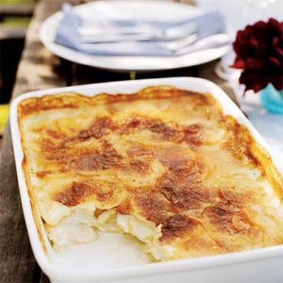 Creamy Cumin-and-Garlic Potato Gratin