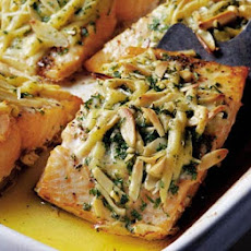 Mary Cadogan's salmon with a cheesy crunch crust