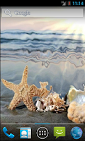 Screenshot of Sea Star HD. Live Wallpaper.