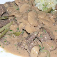 Beef Stroganoff, As I Like It!