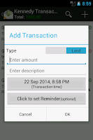 Screenshot of IOU -Lend & Borrow Manager