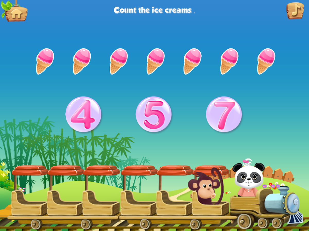 Lola's Math Train Learn Basics Screenshot 2