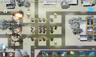 Screenshot of Global Defense: Zombie War