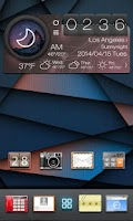 Screenshot of Coolight GO Launcher Theme