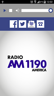Radio América - screenshot