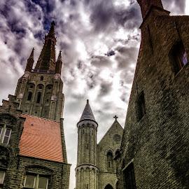 Bruges sky by Antonello Madau - Instagram & Mobile iPhone