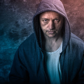 Hoody by Victor Sinden - People Portraits of Men