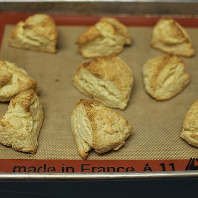 Dorie Greenspan's Cream Scones