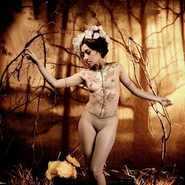 in the forrest by Rully Wee Bee - Nudes & Boudoir Artistic Nude