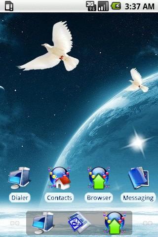 Peaceful World [SQTheme] ADW