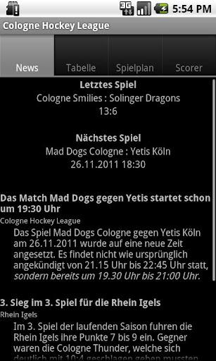 Cologne Hockey League