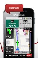Screenshot of NDrive Gulf