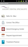 Screenshot of Akemi Dental