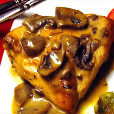 Rosemary Chicken With Mushroom Sauce