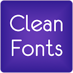 Fonts Clean for FlipFont® Free 6.3 Apk