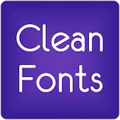 Free Fonts Clean for FlipFont® Free APK for Windows 8