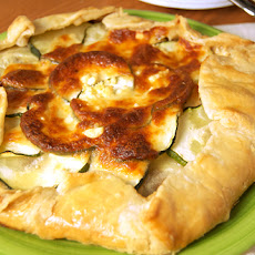 Zucchini & Caramelized Onion Galette