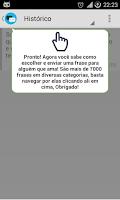 Screenshot of Mensagens Bonitas e Prontas