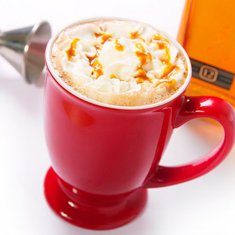 Salted Butterscotch Hot Chocolate