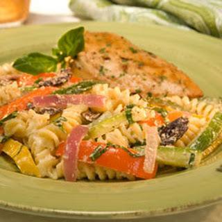Fusilli Vegetable Pasta Salad Recipes