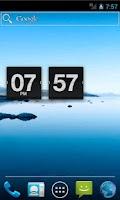 Screenshot of Retro Flip Clock