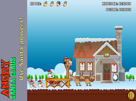 Screenshot of Angry Santa Claus