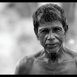 by Mithun Chakraborty - People Portraits of Men