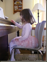 Ella and piano