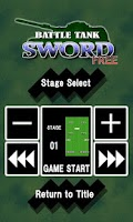 Screenshot of Battle Tank SWORD (Free)