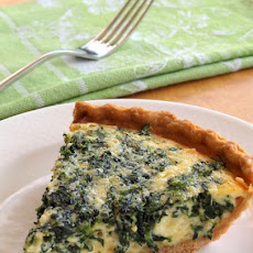 Spinach & Gruyere Quiche