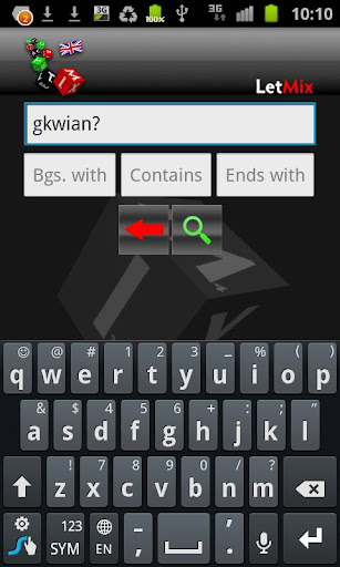 LetMix for Wordfeud SOWPODS