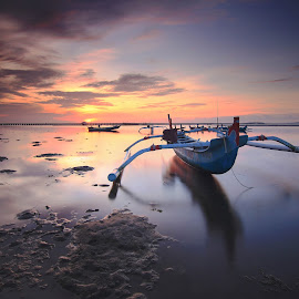 The Boat by Efraim Dastanta Ginting - Transportation Boats ( bali, waterscape, transportation, beach, seascape, landscape )