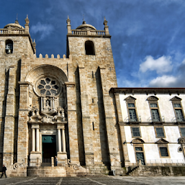 Oporto Cathedral by Antonio Amen - Buildings & Architecture Places of Worship ( church, oporto, cathedral, porto )
