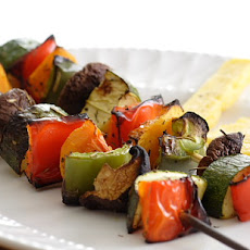 Grilled Skewered Vegetables