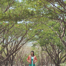 between the trees by Bramandra Putra - People Fashion ( #model #fashion #photography #asia #indonesia #surabaya )