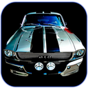 Muscle Cars HD Wallpapers mobile app icon