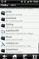 Screenshot of FileBro Lite