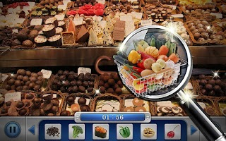 Screenshot of Hidden Objects : Market Mania