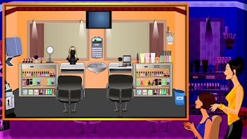 Screenshot of Trendy Salon Escape