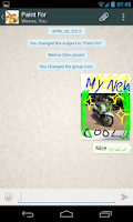 Screenshot of Paint for Whatsapp