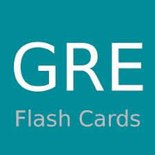 GRE Flashcards Revision
