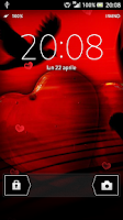 Screenshot of HEART LIVE WALLPAPER HD free
