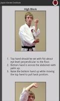 Screenshot of Japan Karate Institute